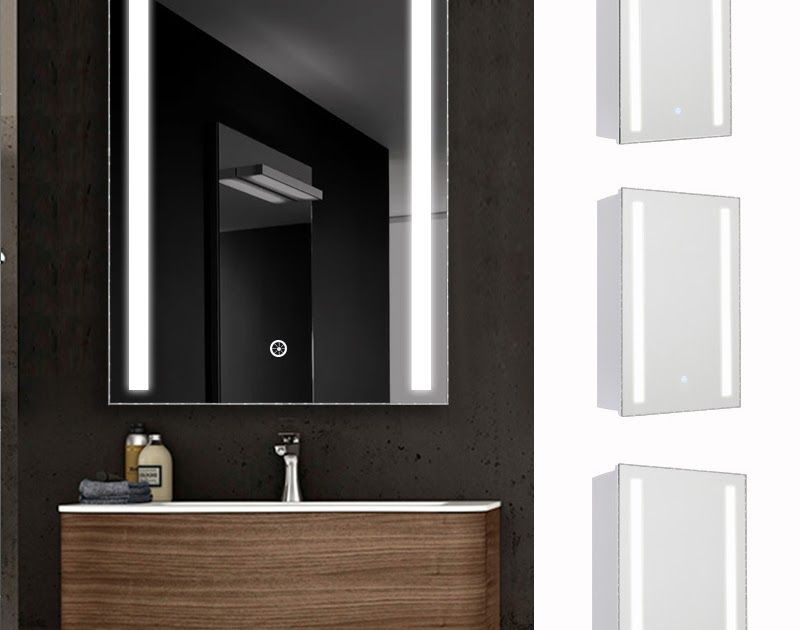 Details About Anti Fog Bathroom Led Mirror Cabinet With Touch Sensor Switch And Shaver Socket Smart Ba Mirror Cabinets Bathroom Mirror Bathroom Mirror Cabinet