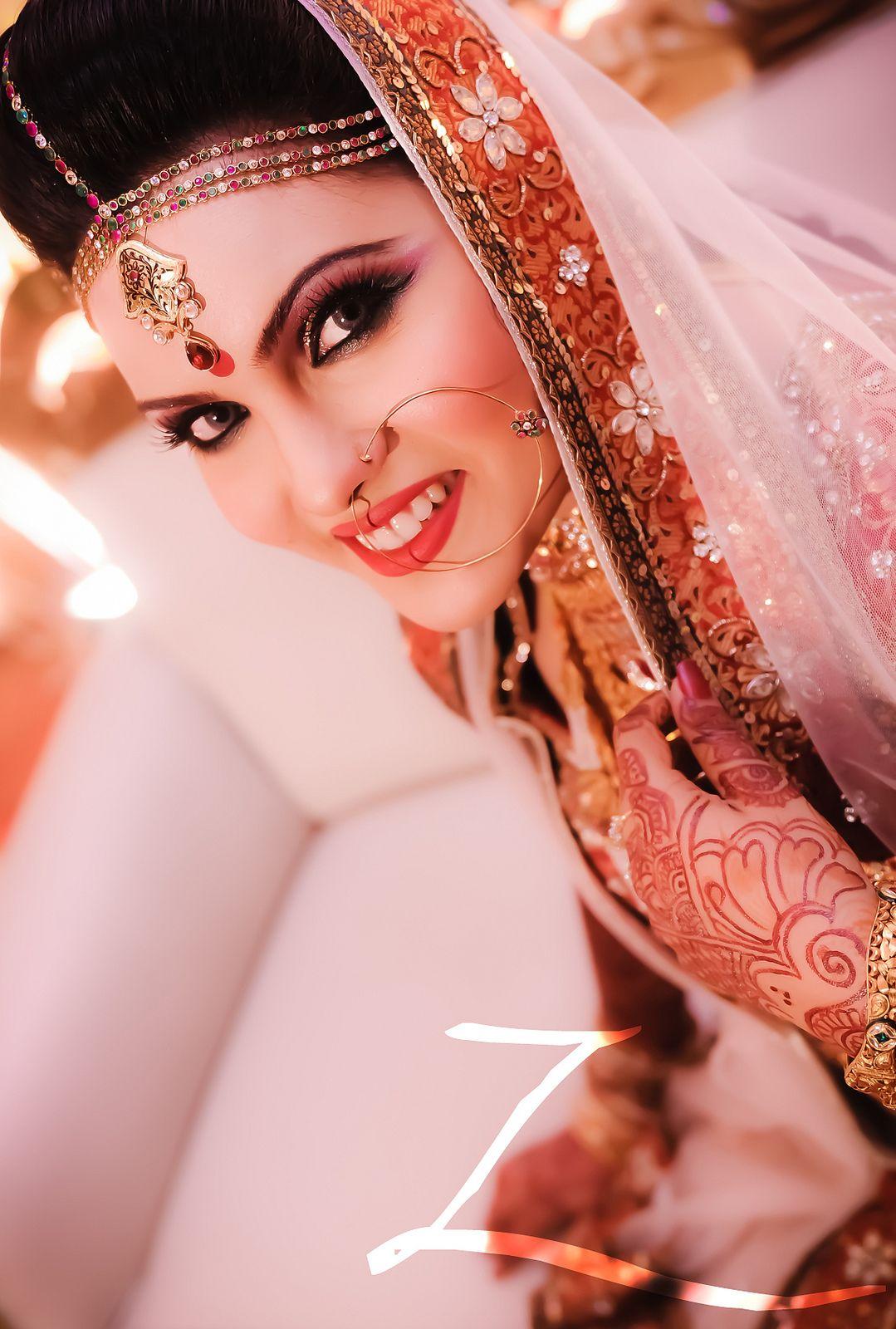 Bangladesh Bride with white veil #Bengali wedding | Bedazzled ...