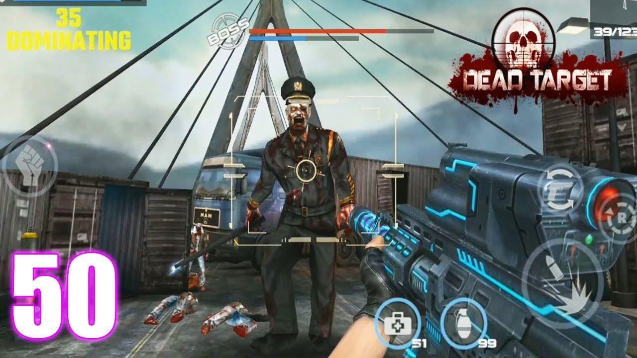 Dead target game offline zombie shooting fps survival