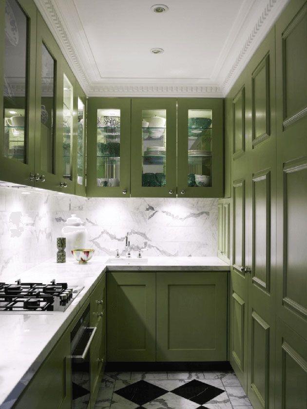 Pintar muebles de cocina. Antes y después, fotos y consejos ...