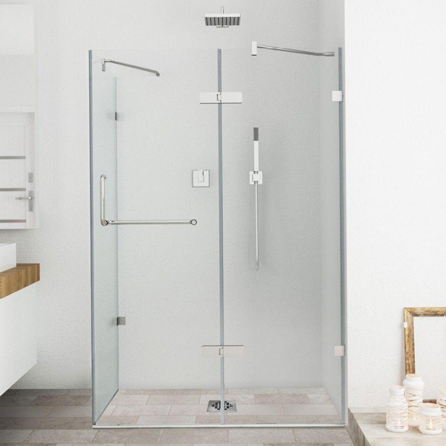 Monteray Frameless .375-in. Shower Enclosure