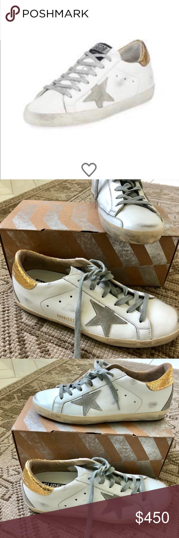 worn. Golden Goose Shoes Sneakers