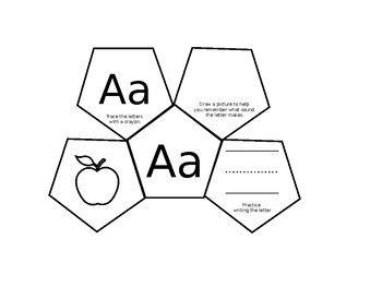 Alphabet Foldables: Letter + Sound Identification