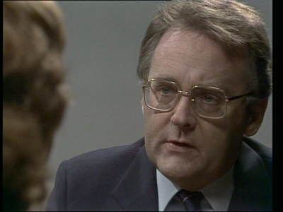 """""""Ted Douglas"""". Representative for the department of correctional services. Played by actor Ian Smith"""