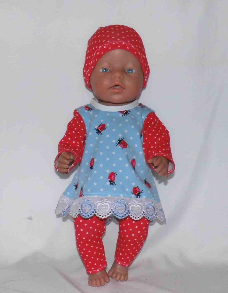 Puppenkleidung für 43 cm Puppen z.B.Baby born Puppen & Zubehör Kleidung & Accessoires