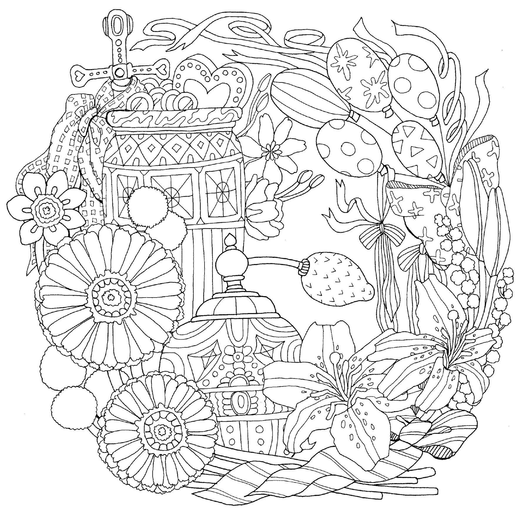 物語のある美しい塗り絵 ロマンチック・ジャーニー (大人の塗り絵