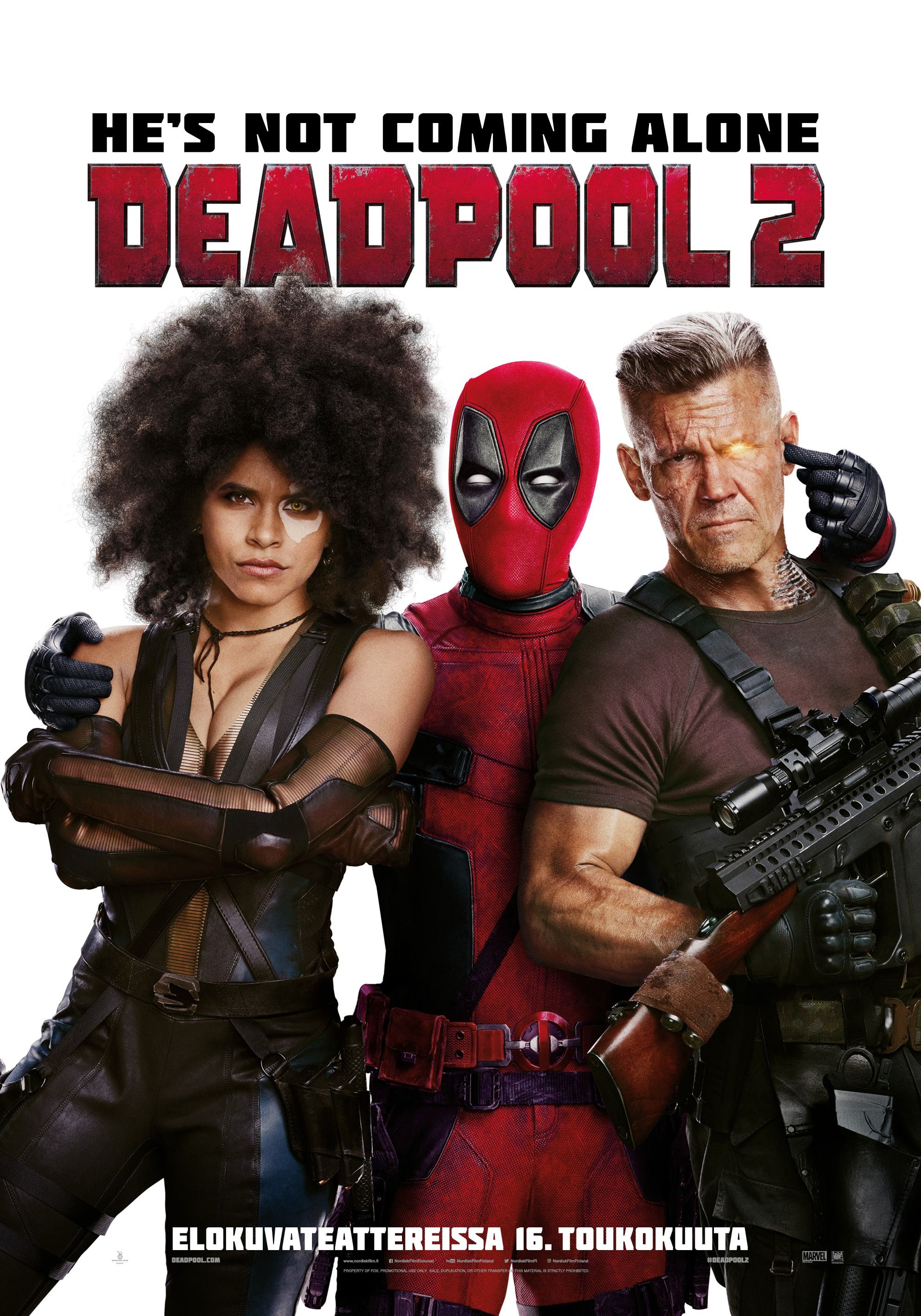 Mega Sized Movie Poster Image for Deadpool 2 (4 of 5