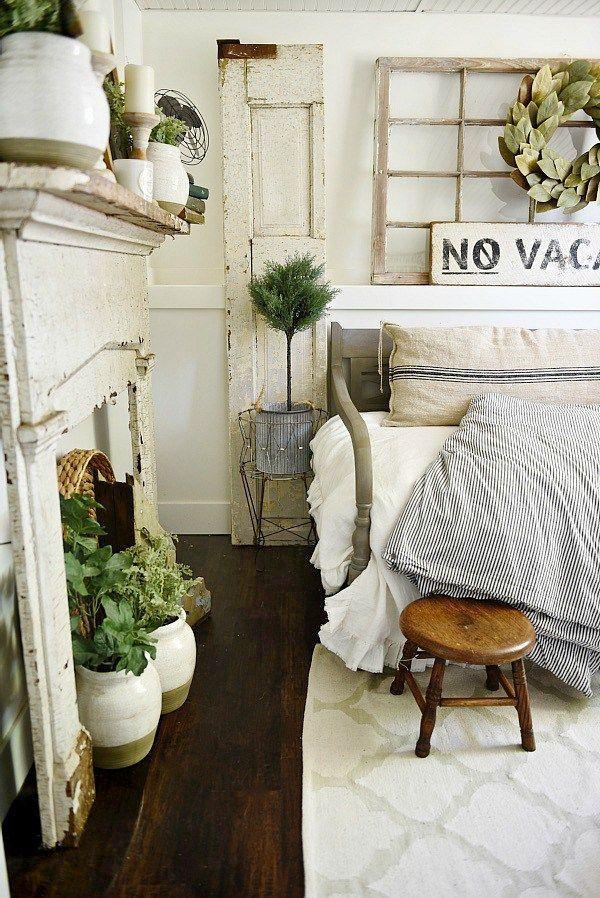 Farmhouse Guest Bedroom Makeover (Liz Marie) Bedrooms, Farmhouse