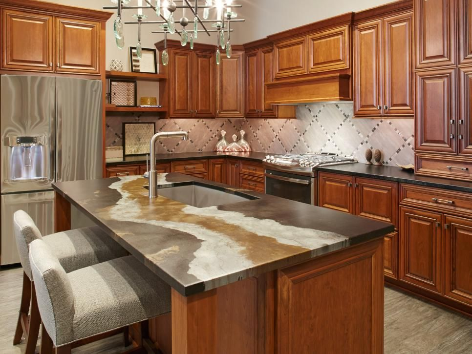 Beyond Granite Kitchen Countertop Alternatives Kitchen - Cheap kitchen countertops alternatives