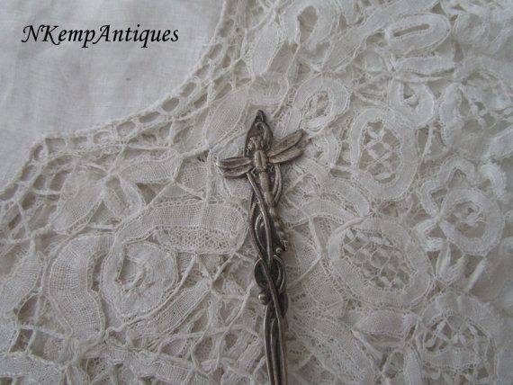 Old  dragonfly spoon by Nkempantiques on Etsy