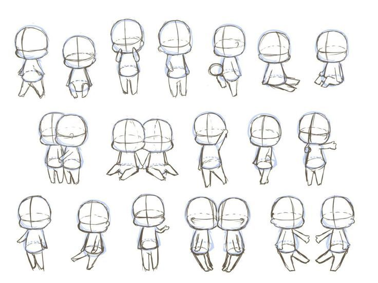 Chibi Drawings Manga In 2020 Chibi Sketch Chibi Drawings Chibi Body