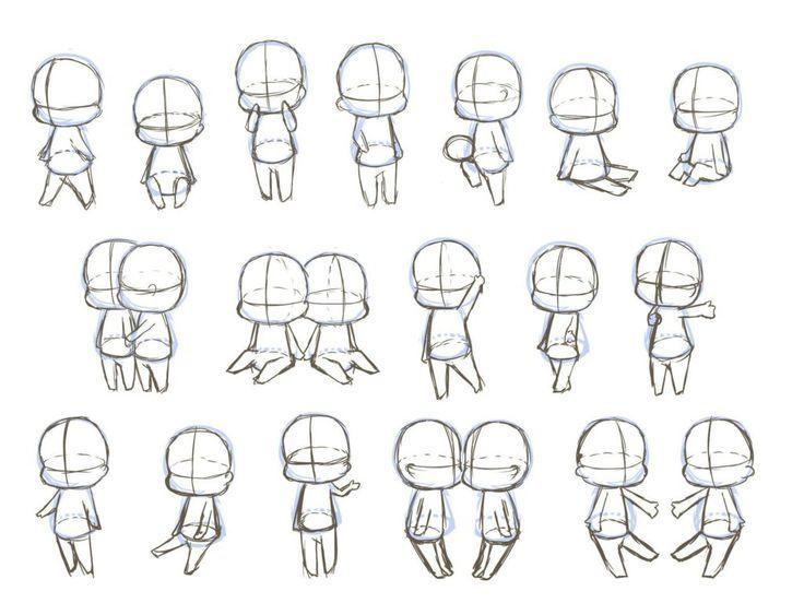 Chibi Drawings Manga In 2020 Chibi Sketch Chibi Body Chibi Drawings