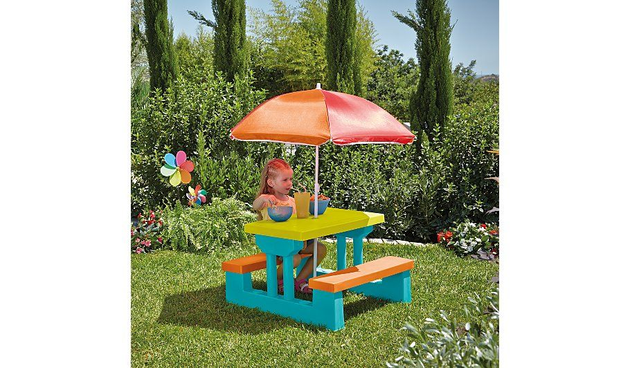 Brilliant Kids Garden Table And Bench Set Table Bench Set Bench Creativecarmelina Interior Chair Design Creativecarmelinacom