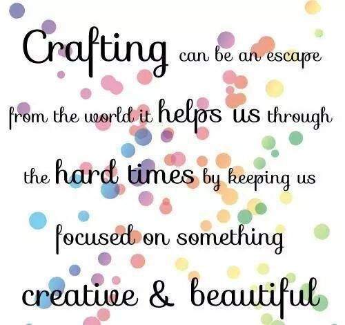 Crafting Quotes Prepossessing Pinmercedes Gunter On Craft Room  Pinterest  Wise Words