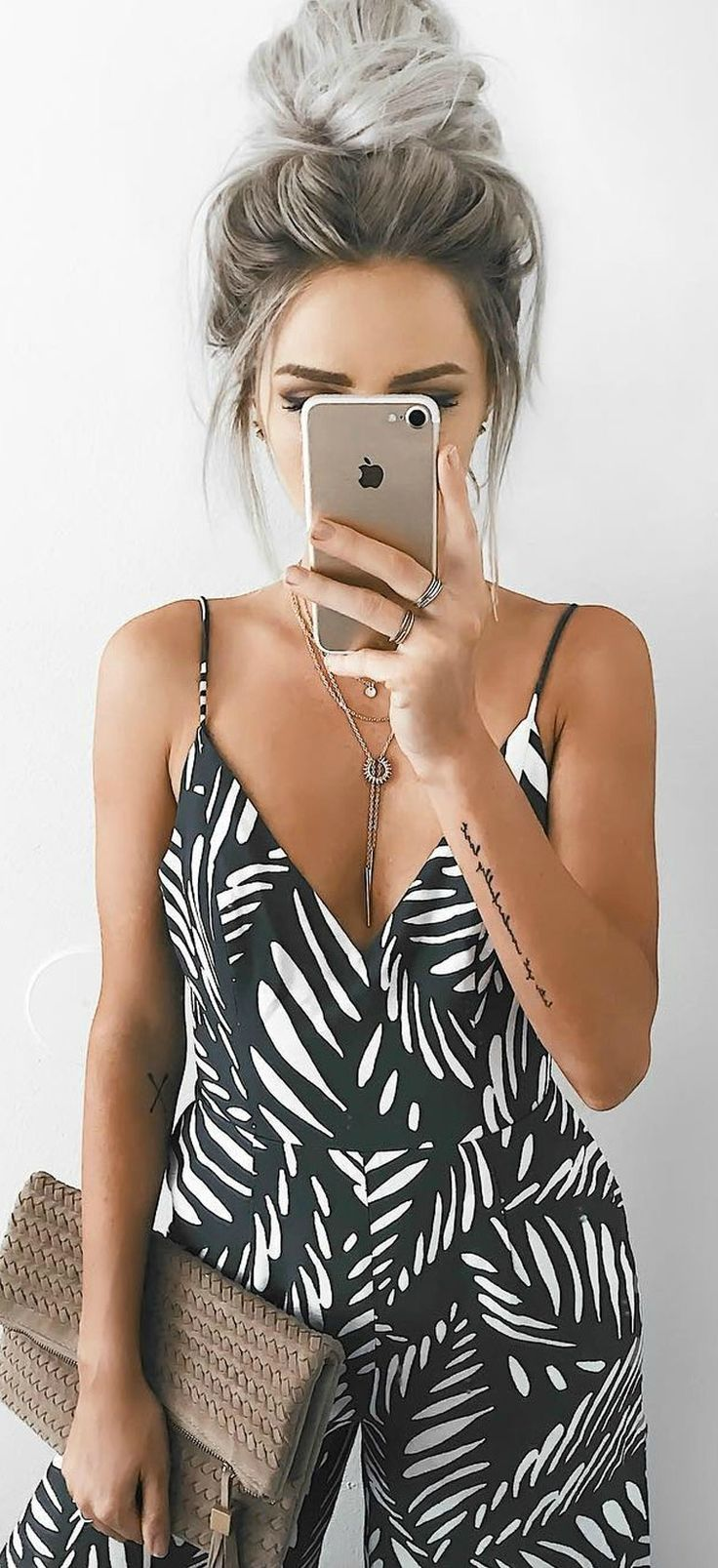 Finders Keepers Knox Olive Green Print Jumpsuit – Hairstyle Women / Pinterest