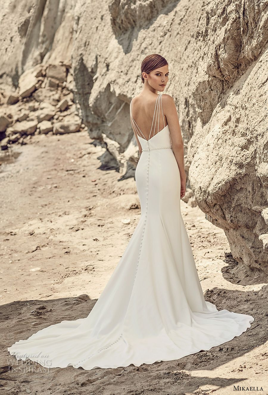 Mikaella Bridal Spring 2017 Wedding Dresses | Pinterest | Clean ...