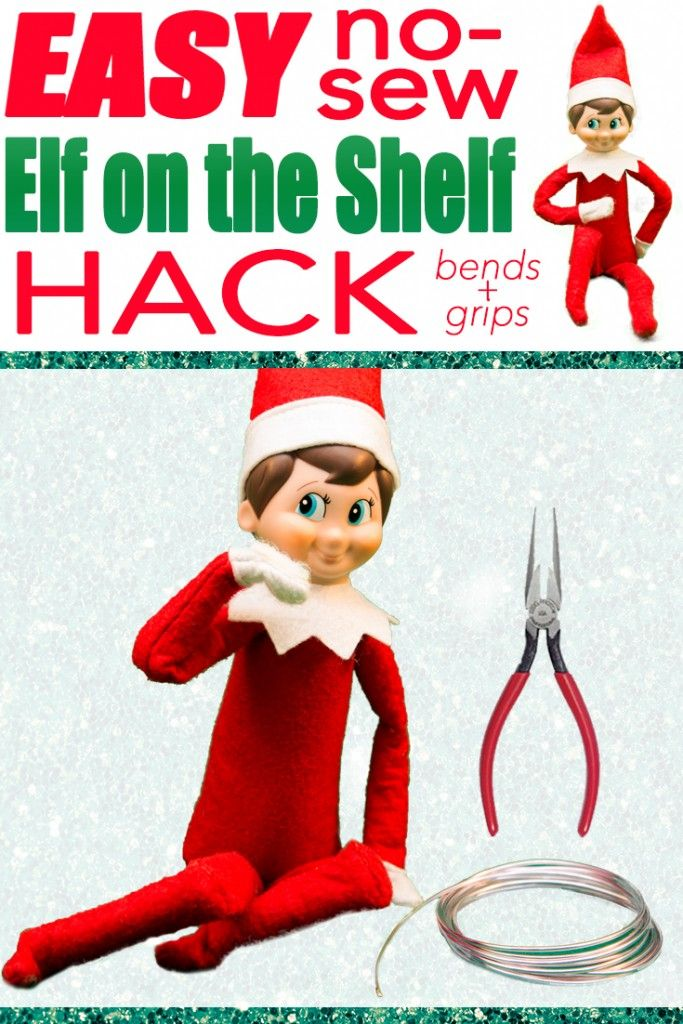 The Easiest Way To Hack Your Elf On The Shelf Makes Him