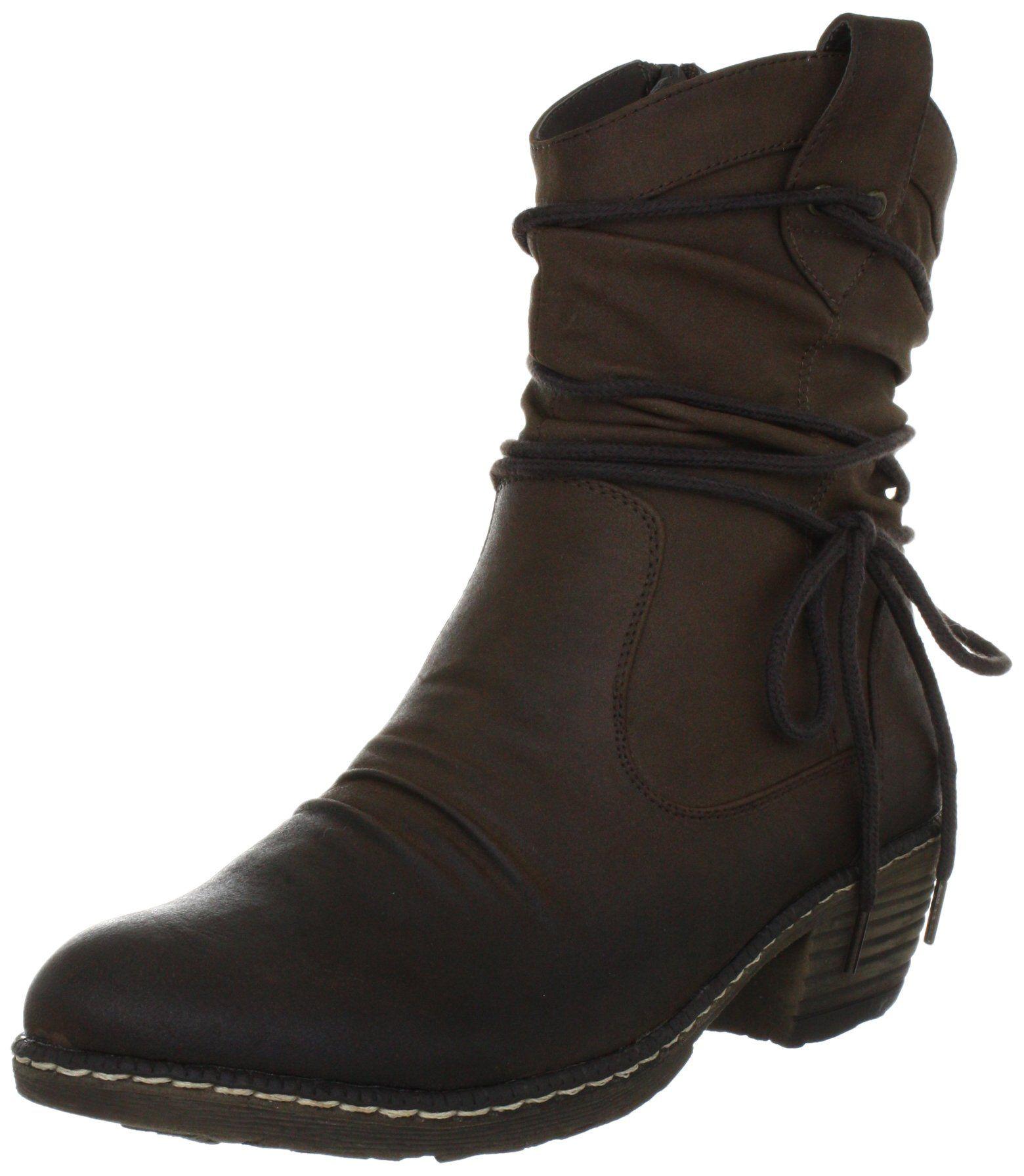 Rieker Womens 93754 Cowboy Boots | Shoes | Boots, Cowboy