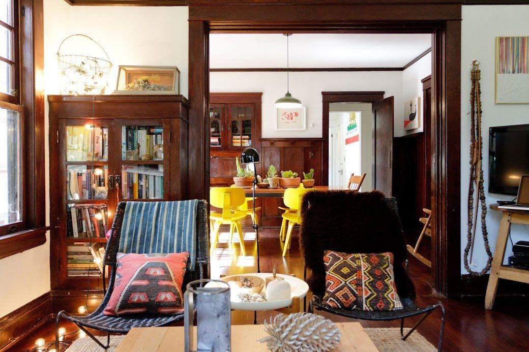 Kathryn & David s Mix of Modern & Craftsman Apartment