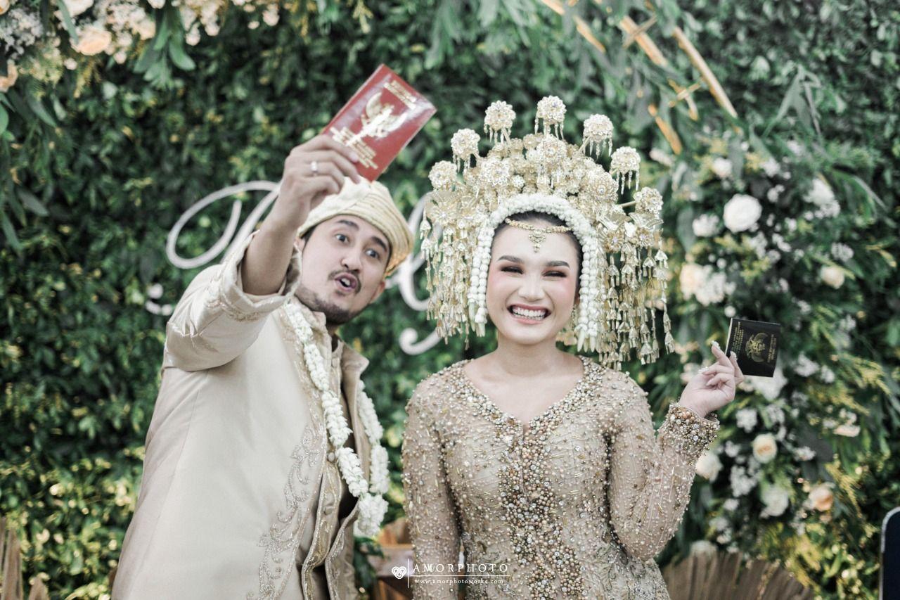 Baju Pernikahan Adat Padang