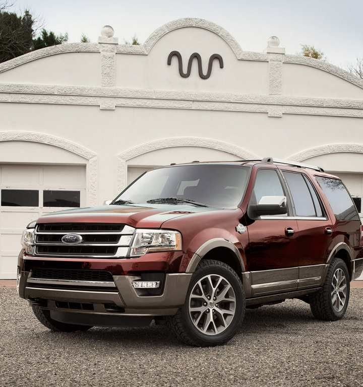 2017 Ford Expedition King Ranch In Bronze Fire With Caribou