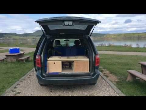 Dodge Grand Caravan 2015 Camper Van Conversion Hd Youtube