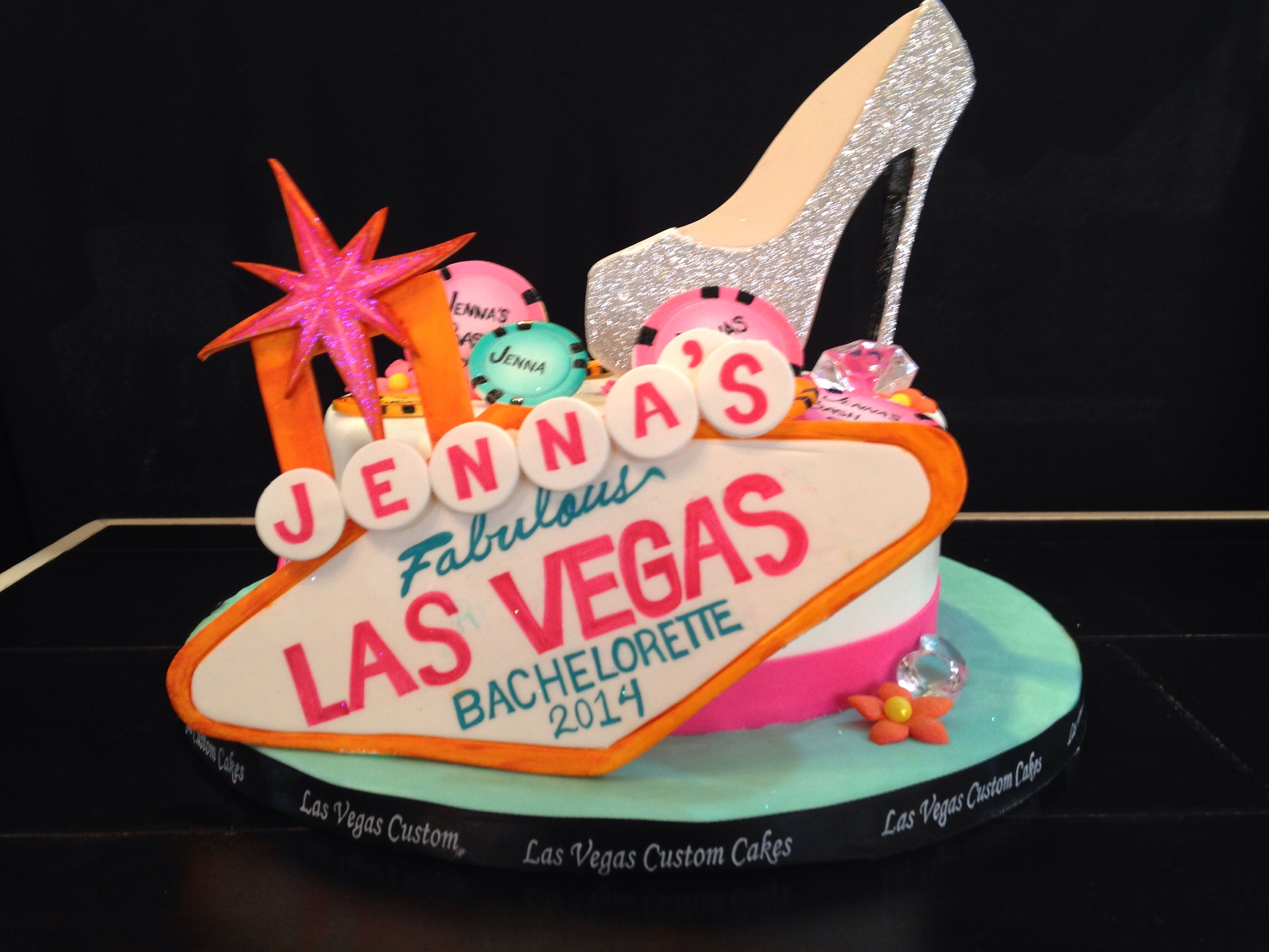 The Most Amazing Cake Ever For My Sister S Las Vegas