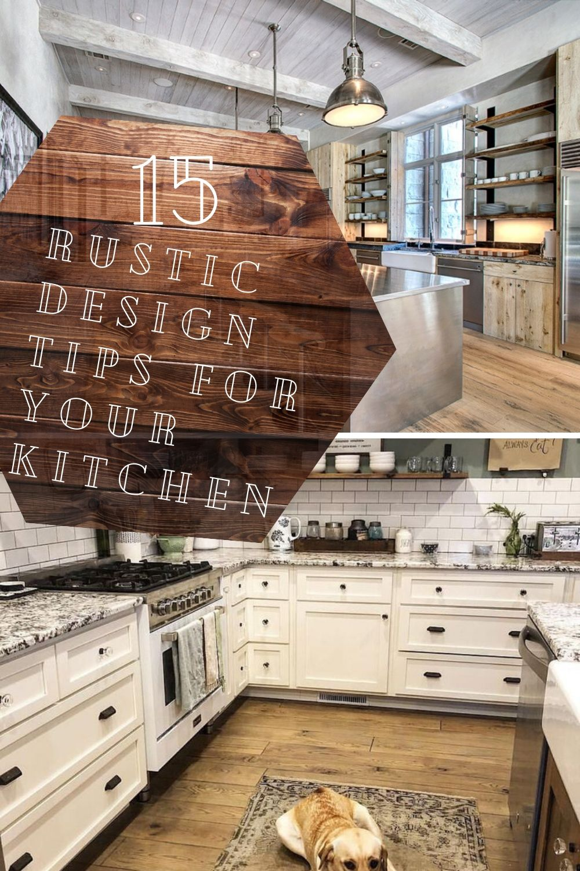 27 Inspiring Rustic Farmhouse Kitchen Cabinets Remodel Ideas Rustic Farmhouse Kitchen Rustic Kitchen Cabinets Kitchen Cabinet Remodel