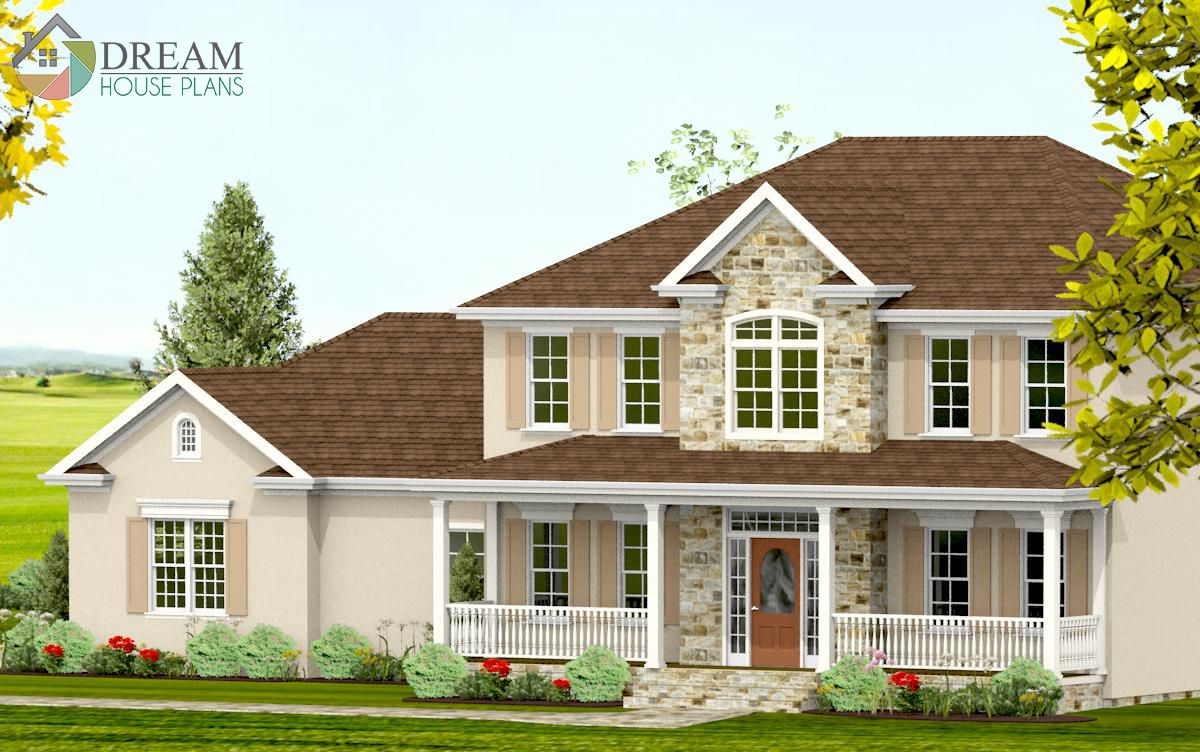 Simple Yet Luxury Southern House Plan Custom Options Like A Walkout Basement Wrap Around Porch Butler Porch House Plans Southern House Plans New House Plans