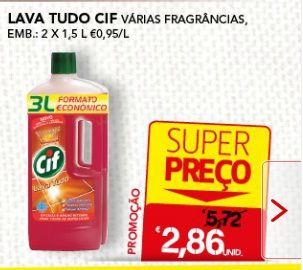 #lavatudo #cif #2x1.5 #W33 #sonae