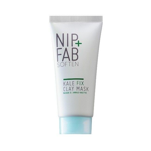 Nip+Fab Kale Fix Clay Mask ($13) ❤ liked on Polyvore featuring beauty products, skincare, face care, face masks, clay mask, mud mask, moisturizing face mask, facial clay mask and moisturizing facial mask
