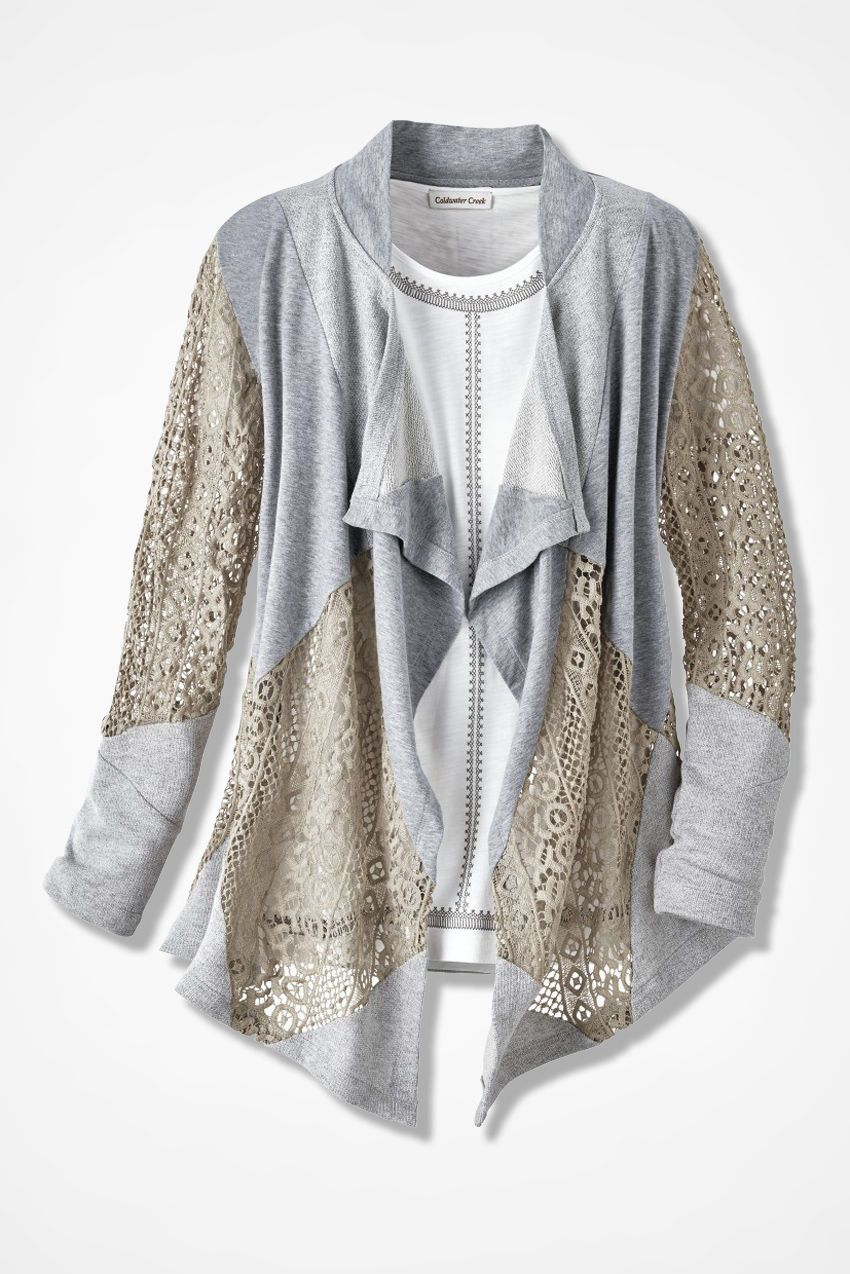 Texture Fusion Cardigan - Coldwater Creek | Women's fashion ...