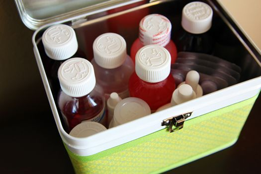 the proper way to store medications - and cute ways to do it!