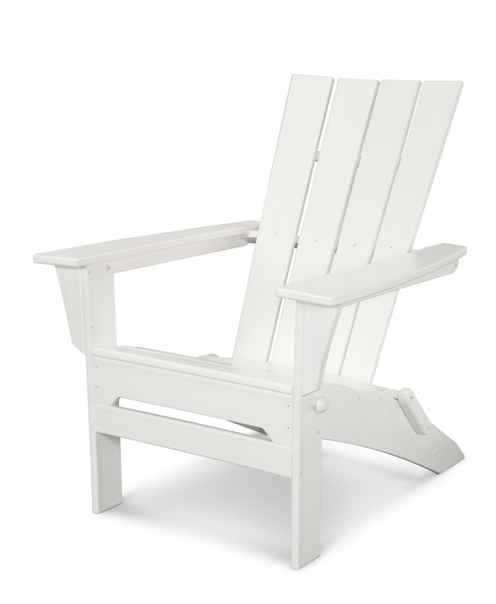 Quattro Recycled Plastic Folding Adirondack Chair Resin
