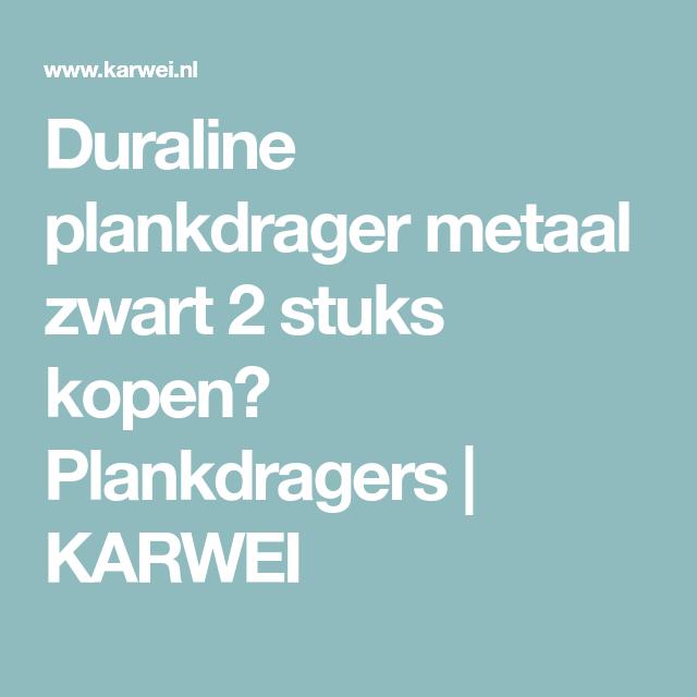 Duraline Wandplank Karwei.Duraline Plankdrager Metaal Zwart 2 Stuks Kopen Plankdragers