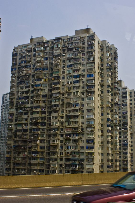 A Typical Lower Class Apartment Building In China This Is Just One Of Several Vertical Slums But Don T Get Me Wrong They Do Also Have Very Modern