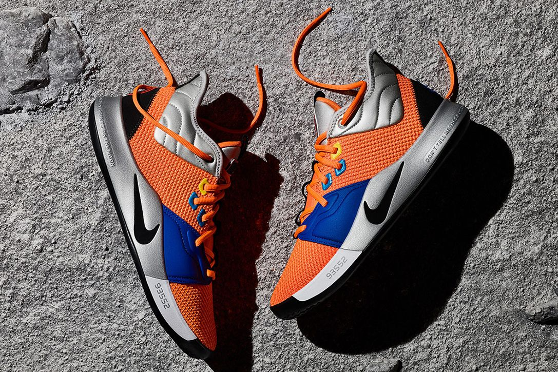 Nike PG3 NASA Shoes   HiConsumption