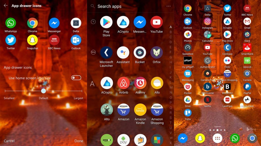 Microsoft Launcher Update Brings Recurring Reminders, Icon