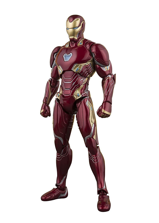 Amazon Com S H Figuarts Avengers Iron Man Mark 50 Avengers Infinity War Approximately 155 Mm Pvc Abs Painted Mov Iron Man Mark 50 Iron Man Mark Iron Man
