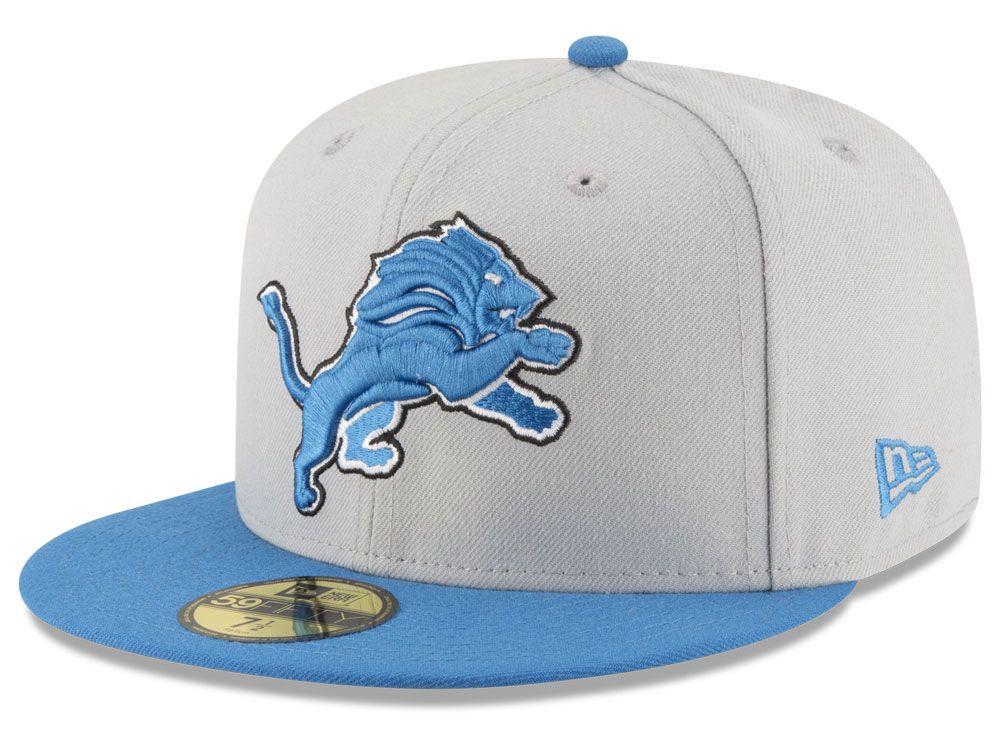 buy online 82d09 f4f20 Detroit Lions New Era NFL Team Basic 59FIFTY Cap ( 20)