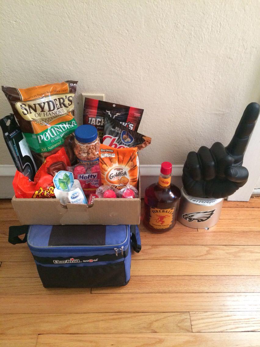 Bachelor party hangover/survival kit: Tylenol, Gatorade