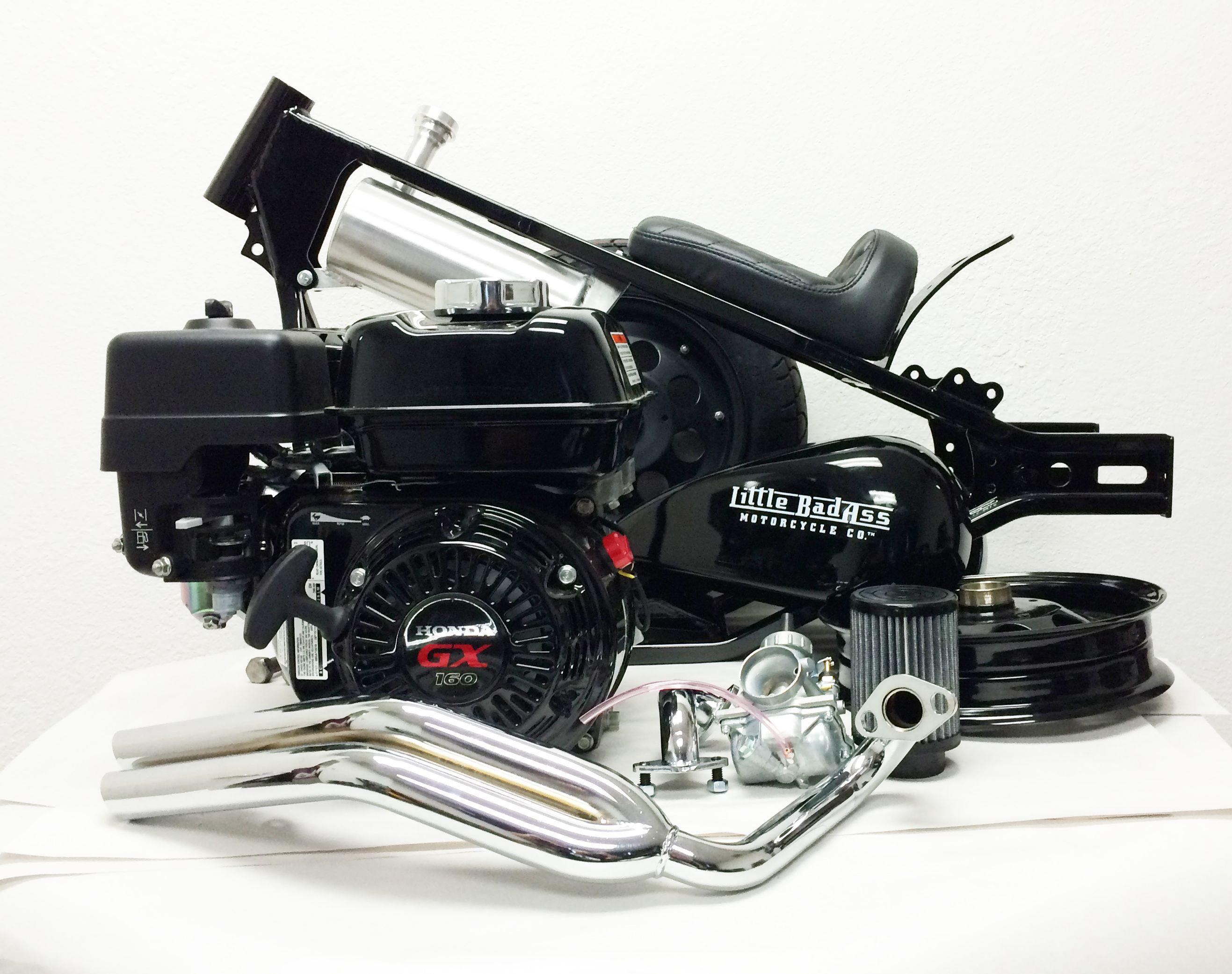 Honda GX160 Black Thunder Engine Assembly, for Little