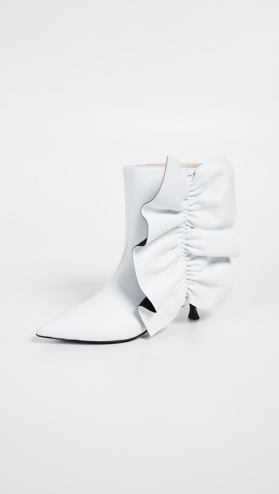 76ebf5419f Ruches Twiggy Boots | This Must-Have Booties | Boots, Msgm, Shoes