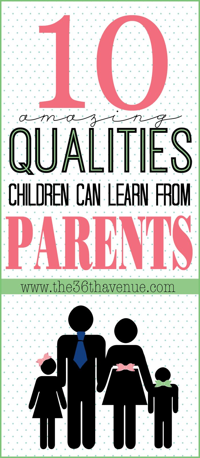 10 Things Children Learn From Parents | Want...Need...Love ...