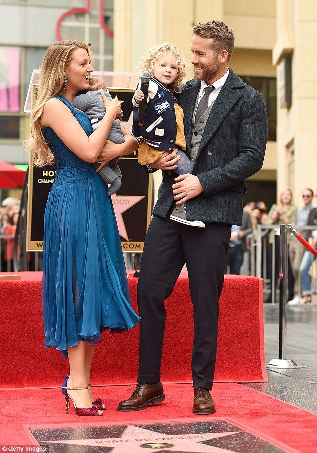 Ryan Reynolds Upstaged By Daughter As He Gets Walk Of Fame Star