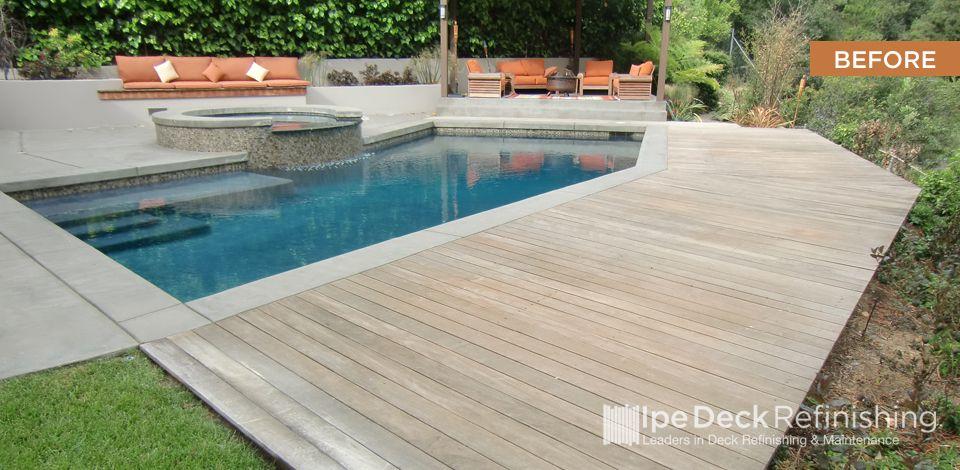 Ipe Deck Refinishing In Los Angeles Orange County San Diego Deck