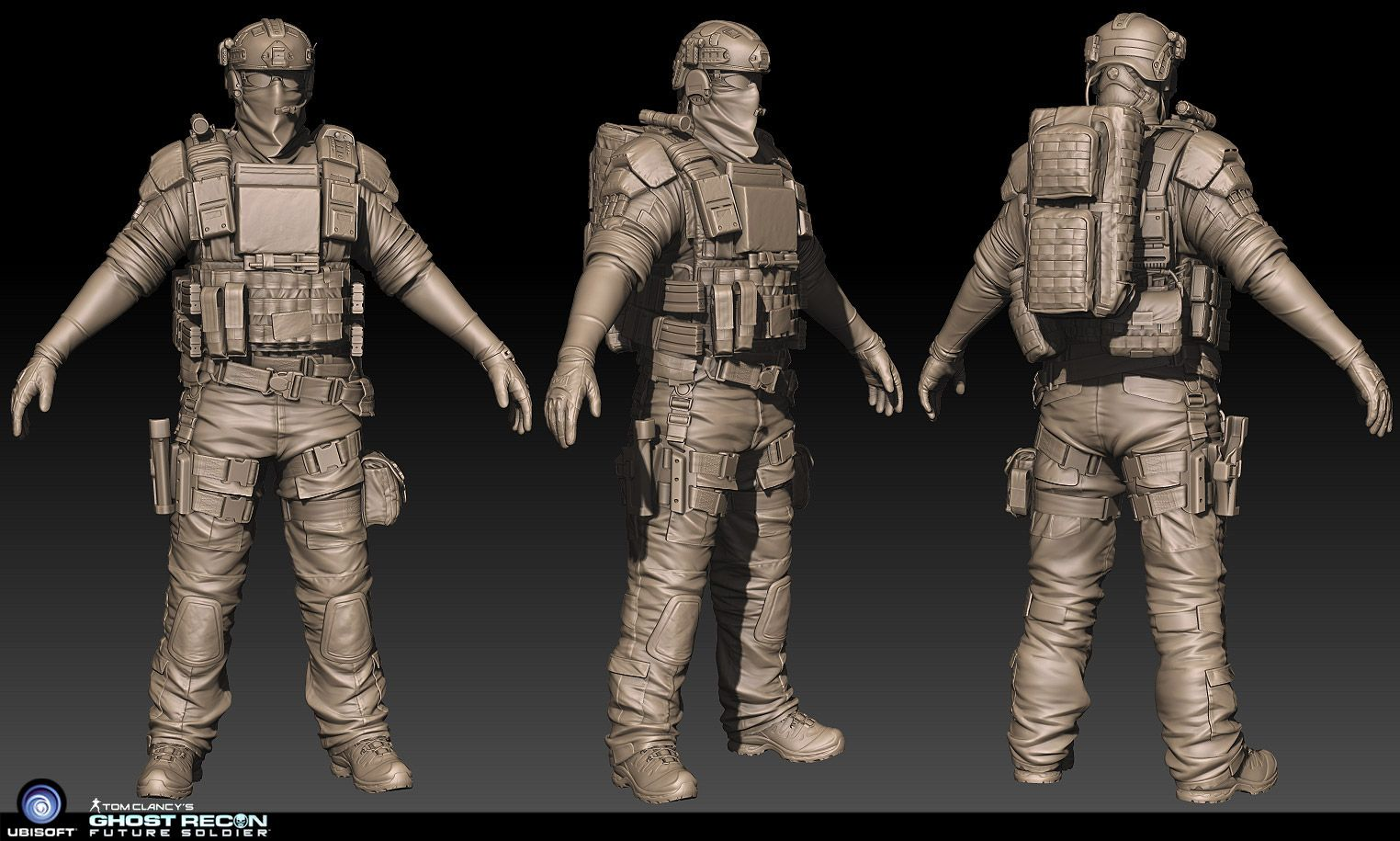ghost recon zbrush work | CG Stuff | Pinterest | ZBrush, 3d and 3d ...