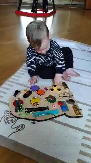 TO SHIP  Rocket Busy Board Travel toy Sensory for baby Activity Toddler Educational Baby READY TO SHIP  Rocket Busy Board Travel toy Sensory for baby Activity Toddler Edu...