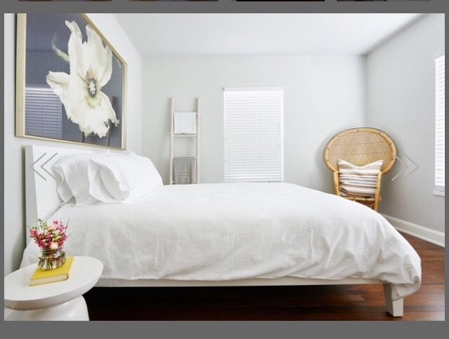 Clean rooms, big art | Avion Park | Pinterest | Room