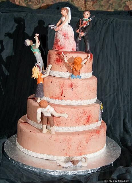 The Walking Dead Wedding Cake I Know I M Already Married But